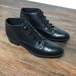 Munro Victorian Granny Button Boots Size 7N